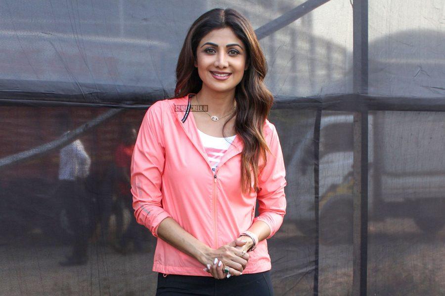 Shilpa Shetty At Walkathon Event In Mumbai