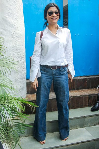 Konkona Sen Sharma At Neha Dhupia's Baby Shower Function