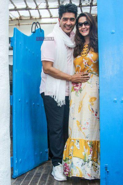 Preity Zinta At Neha Dhupia's Baby Shower Function
