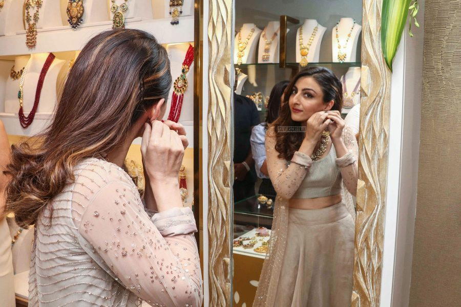 Soha Ali Khan At The Launch Of A New Jewellery Collection