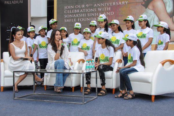 Sonakshi Sinha At Smile Foundation Event
