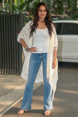 Sonakshi Sinha At A Soccer Event