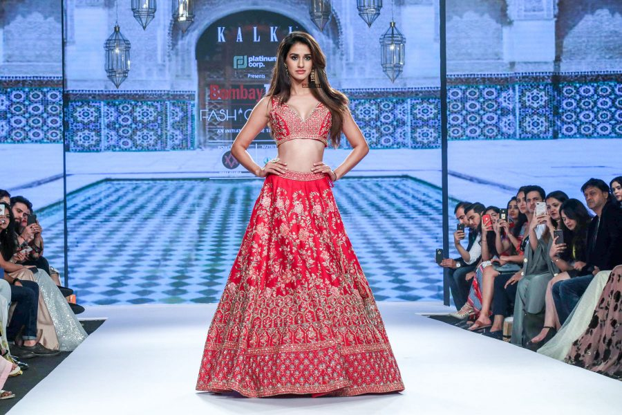 Disha Patani At The Bombay Times Fashion Week 2018