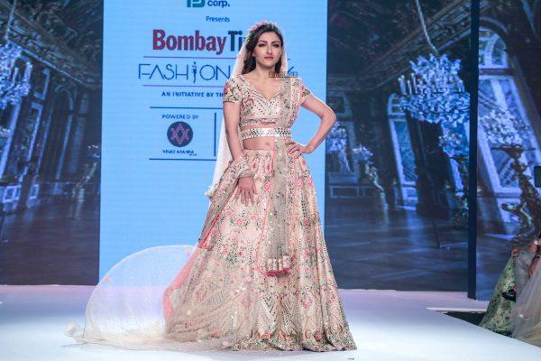 Soha Ali Khan At The Bombay Times Fashion Week 2018