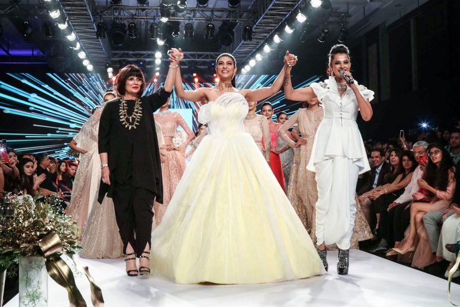 Sushmita Sen At The Bombay Times Fashion Week 2018