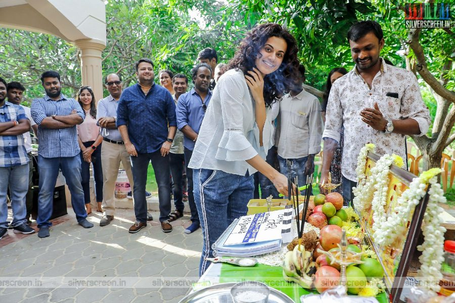 Taapsee Pannu At The Launch Of 'Game Over'