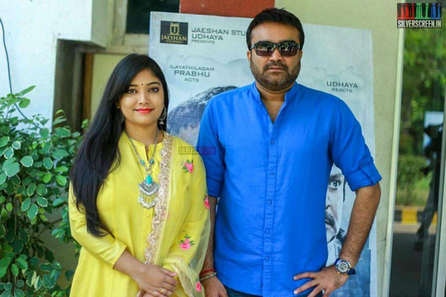 Priyanka Thimmesh, Udhaya At The Utharavu Maharaja Press Meet