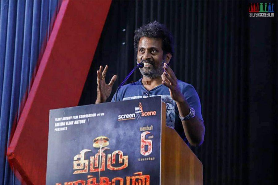 Thimiru Pudichavan Press Meet Photos