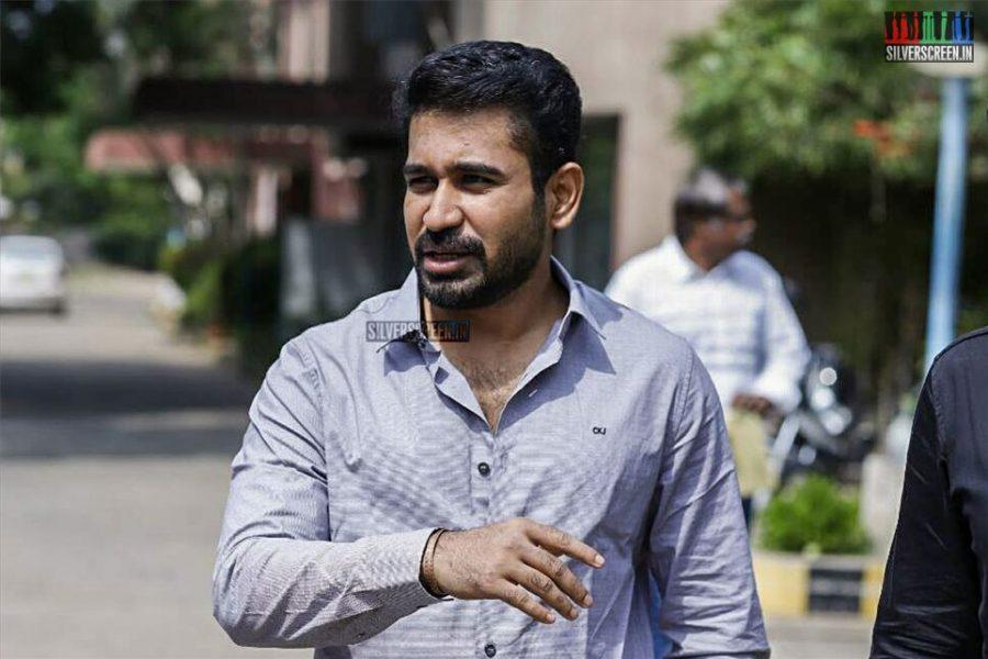 Vijay Antony At The Thimiru Pudichavan Press Meet