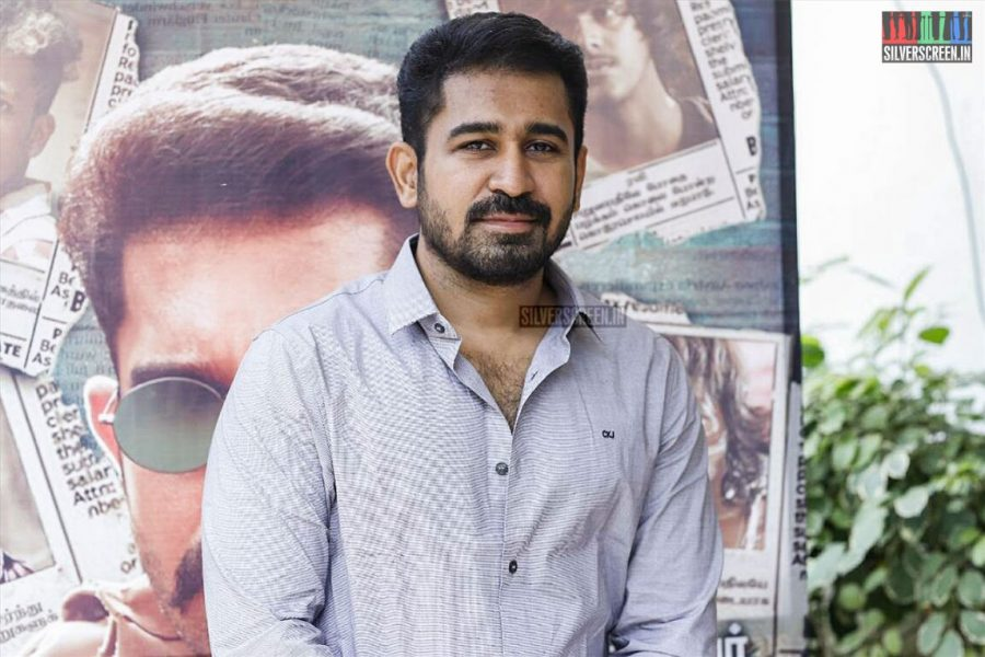 Vijay Antony At The Thimiru Pudichavan Press Meet