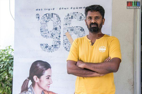 C Prem Kumar At The 96 Success Meet