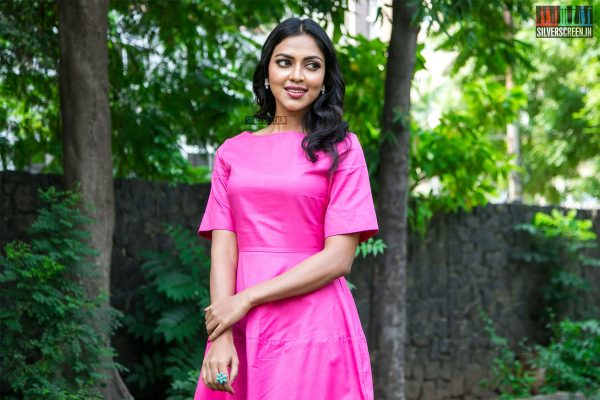 Amala Paul At The Ratsasan Success Meet