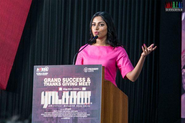 Amala Paul At The Ratsasan Success Meet