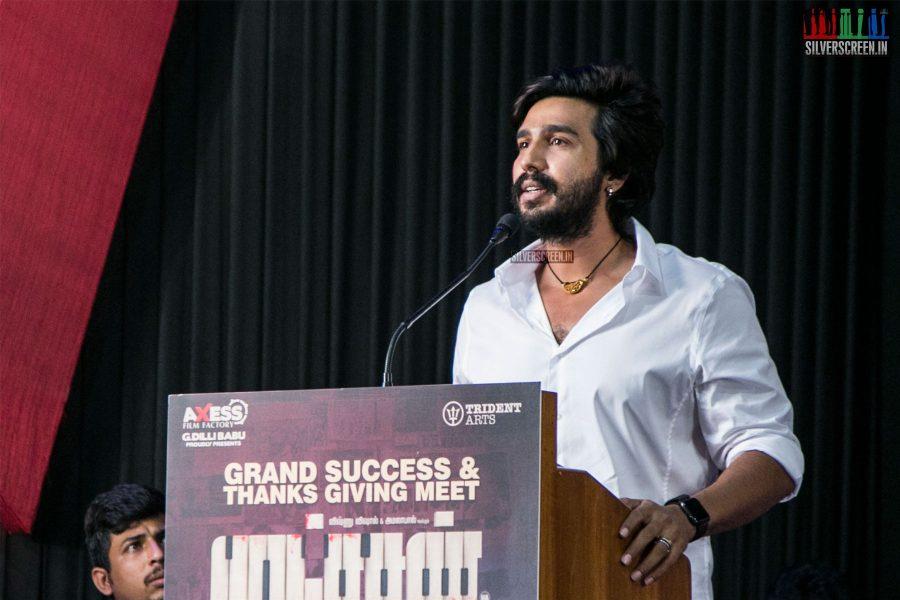Vishnu Vishal At The Ratsasan Success Meet