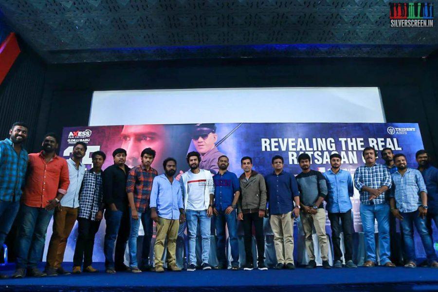 Raatsasan Press Meet Photos