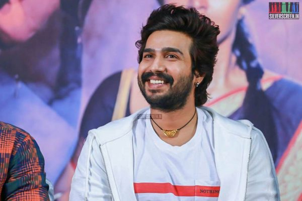 Vishnu Vishal At The Raatsasan Press Meet