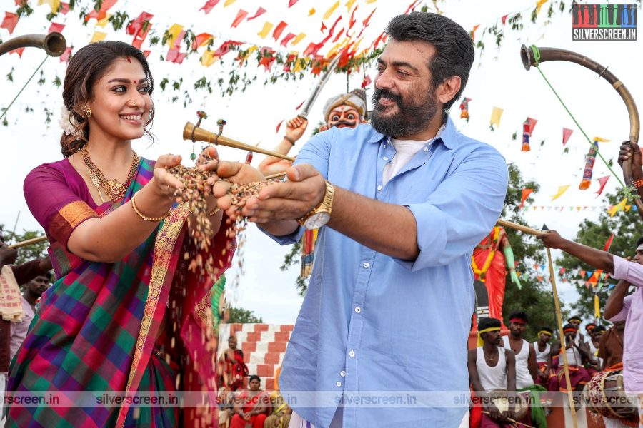 Viswasam Movie Stills Starring Ajith Kumar, Nayanthara