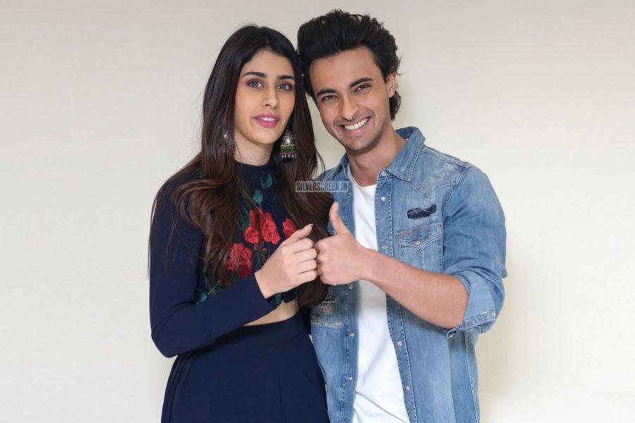 Warina Hussain, Aayush Sharma Promote Loveyatri