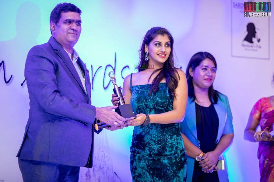 Yaashika Aanand At The Madras Icon Awards 2018