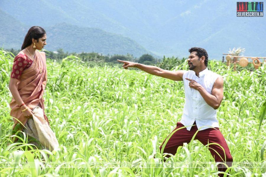 Yang Mang Chang Movie Stills Starring Prabhu Deva, Lakshmi Menon