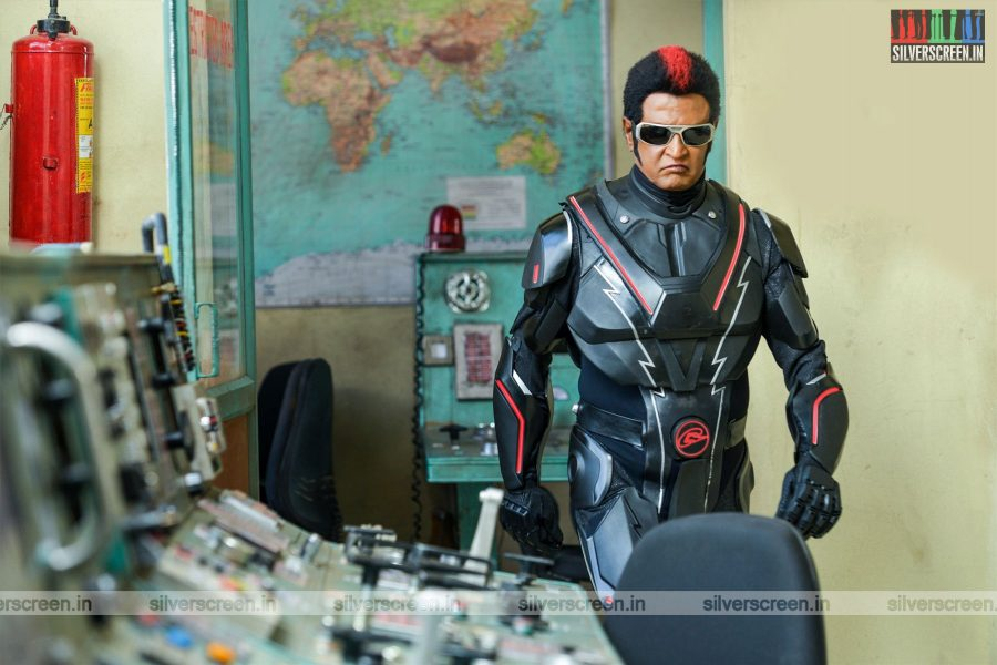 2.0 Movie Stills Starring Rajinikanth