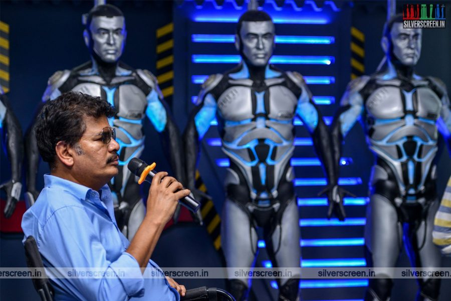 2.0 Movie Stills With Shankar