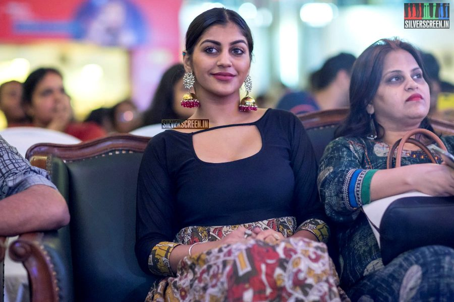 Yaashika Aanand At Jonita Gandhi's Live In Concert In Chennai