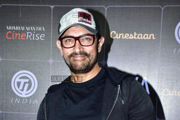Aamir Khan At The First Edition Of Cinestaan India's Storytellers Script Contest