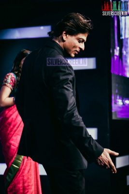 Actor Shahrukh Khan Solo Photos from the Happy New Year Promo in Chennai