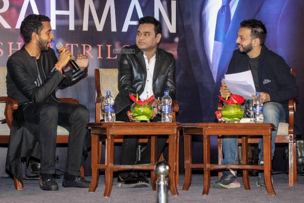 AR Rahman At The Launch Of His Biography