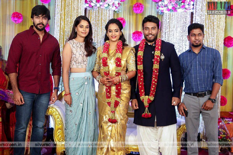 Arav At The Suja Varunee & Shivakumar Wedding Reception
