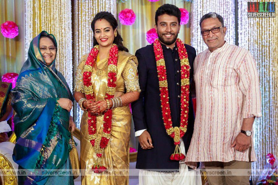 Nasser At The Suja Varunee & Shivakumar Wedding Reception