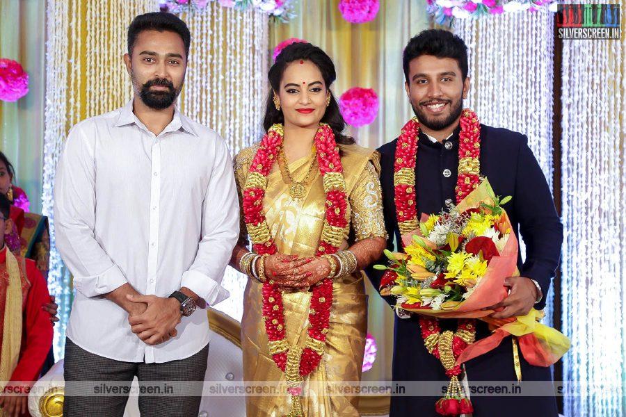 Prasanna At The Suja Varunee & Shivakumar Wedding Reception
