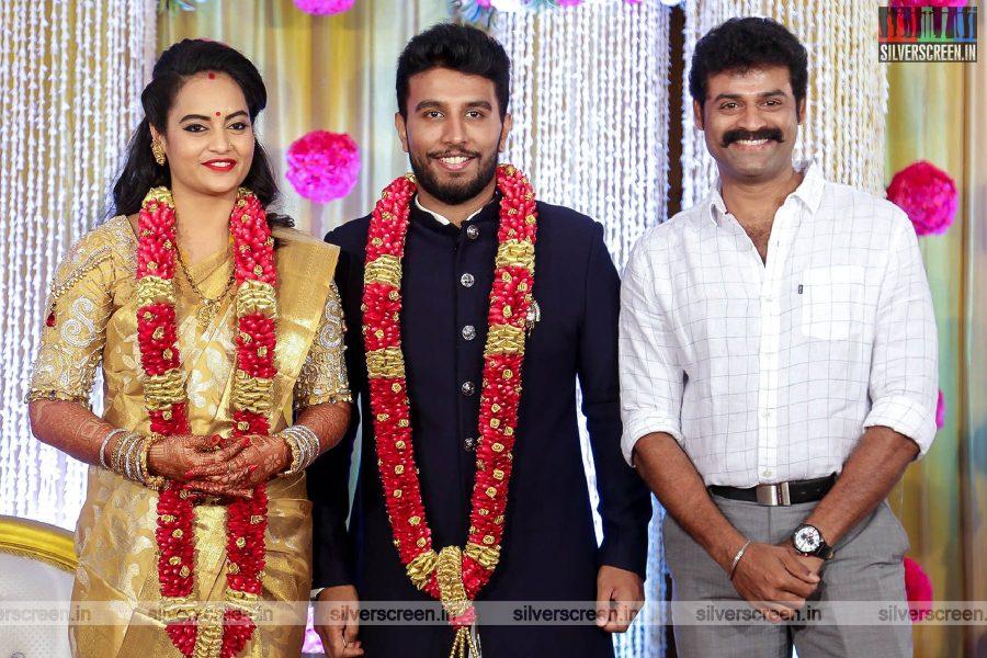 Prem At The Suja Varunee & Shivakumar Wedding Reception