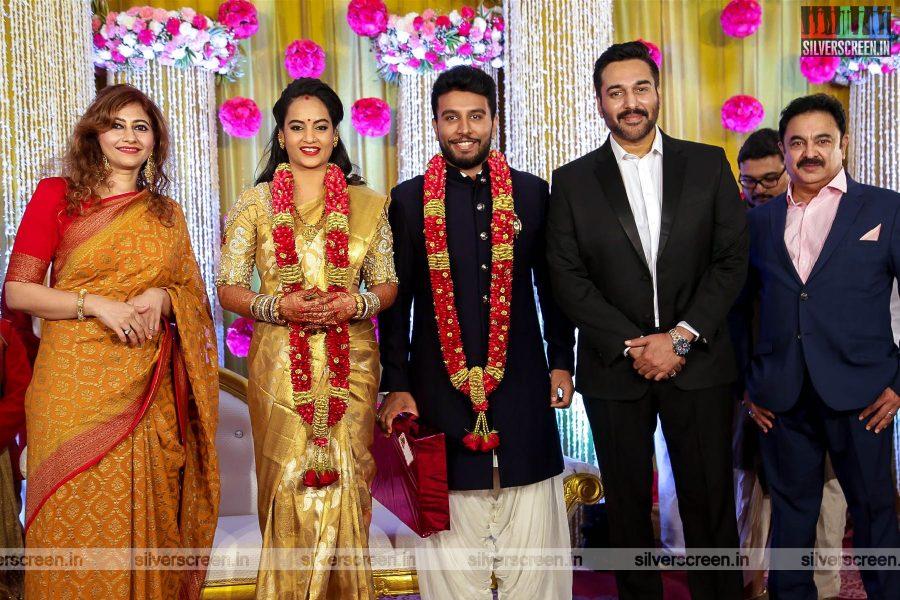 Rahman At Suja Varunee & Shivakumar Wedding Reception