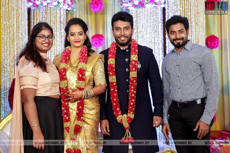 Aari At Suja Varunee & Shivakumar Wedding Reception