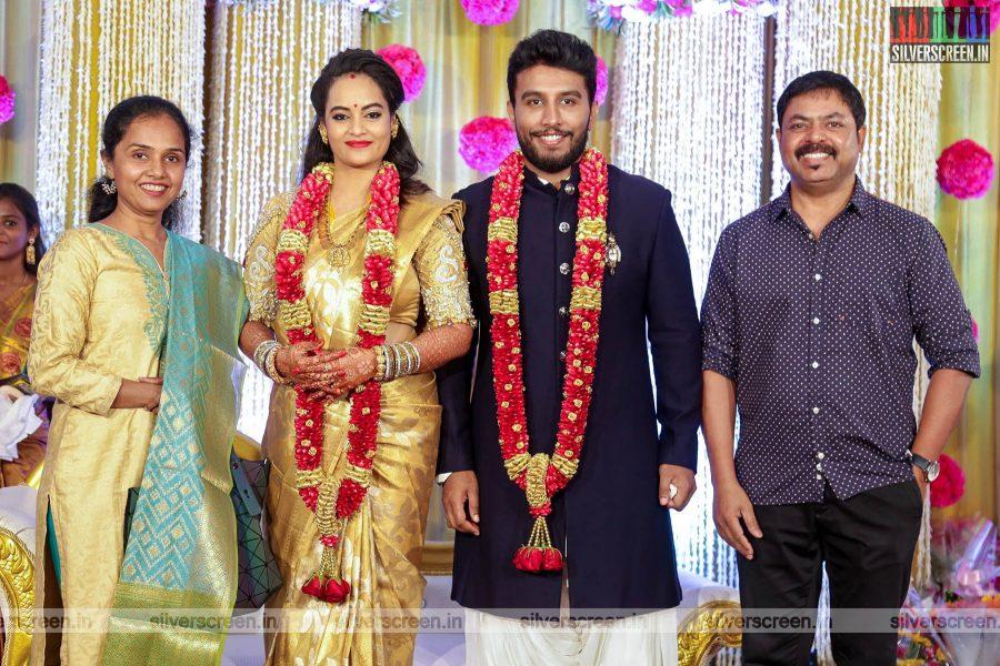 James Vasanthan At Suja Varunee & Shivakumar Wedding Reception
