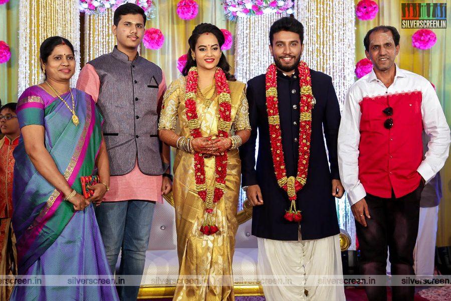 Vaiyapuri At The Suja Varunee & Shivakumar Wedding Reception