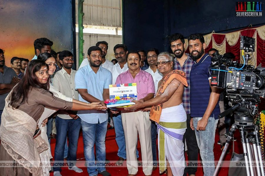 'Production No.21' Movie Launch Photos