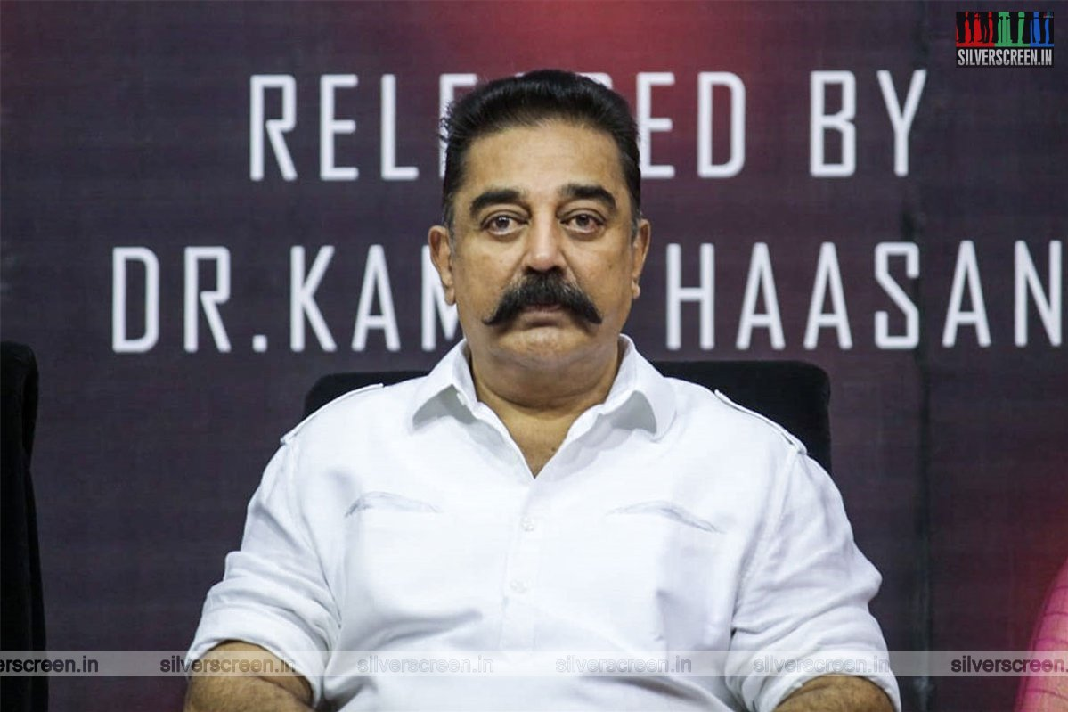 Kamal Haasan At The 'Get Your Freaking Hands Off Me' Album Launch