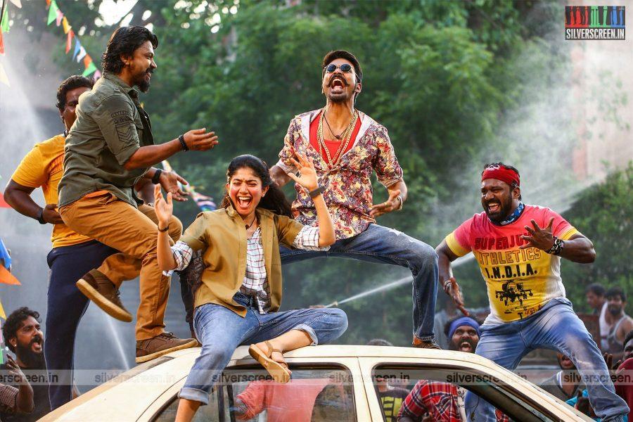 Maari 2 Movie Stills Starring Dhanush, Kreshna, Sai Pallavi