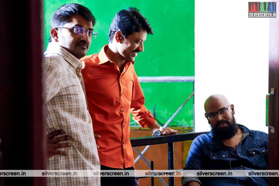 Monster Movie Stills Starring SJ Suryah, Karunakaran