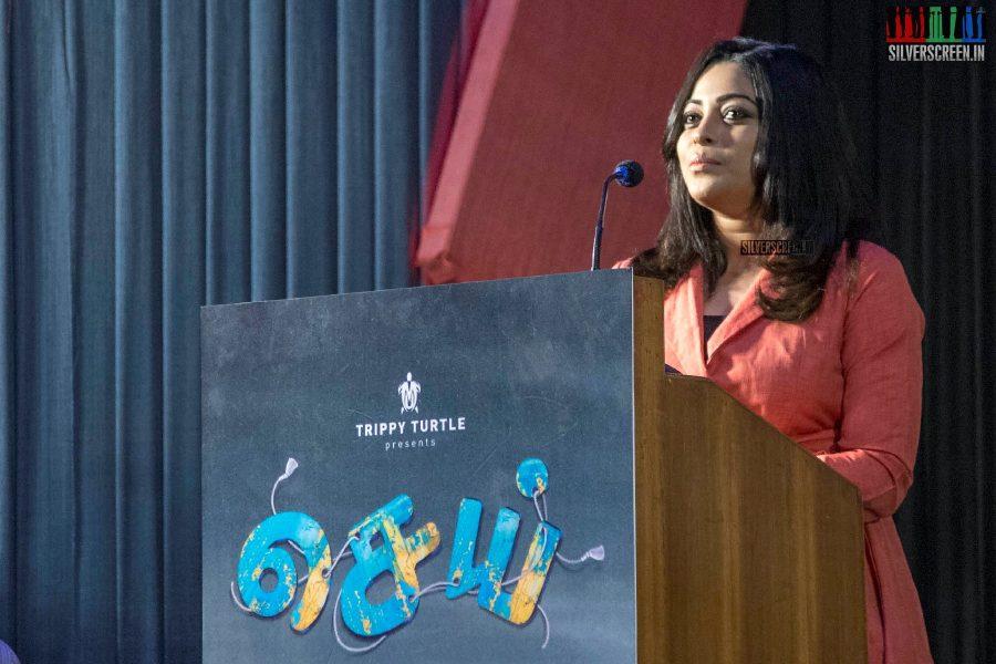 Anjali Rao At The Sei Press Meet