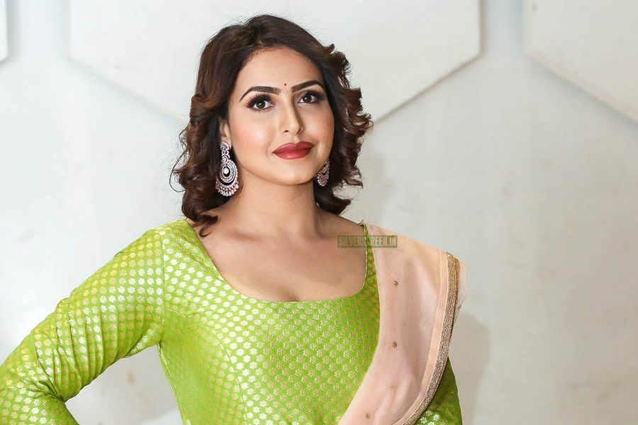 Nandini Rai Promotes 'Rangu'