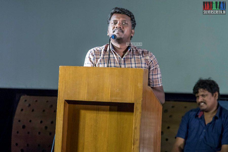 Mari Selvaraj At The Pariyerum Perumal Review Meet