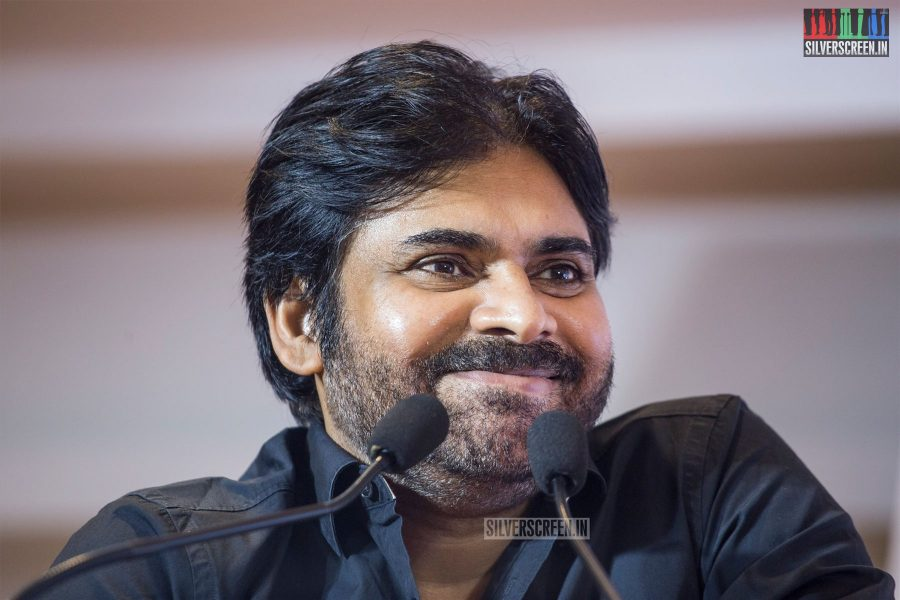 Pawan Kalyan In Chennai At The Jana Sena Party Meet