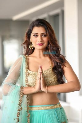 Payal Rajput At A Store Launch