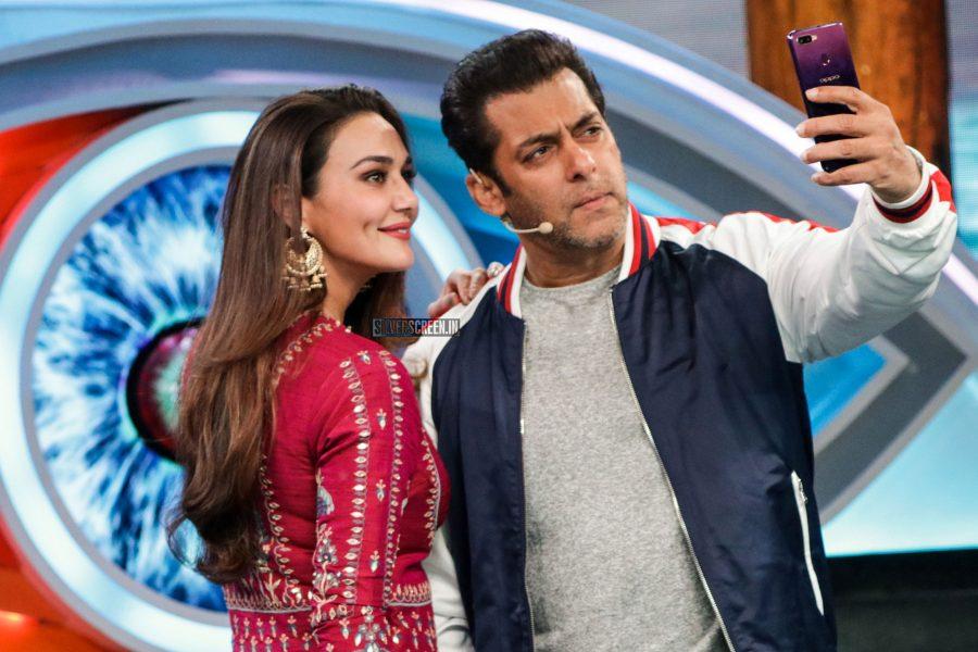 Preity Zinta On The Sets of Bigg Boss 2