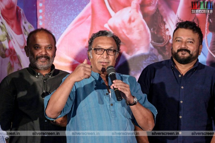 Nasser At The 'Party' Audio Launch