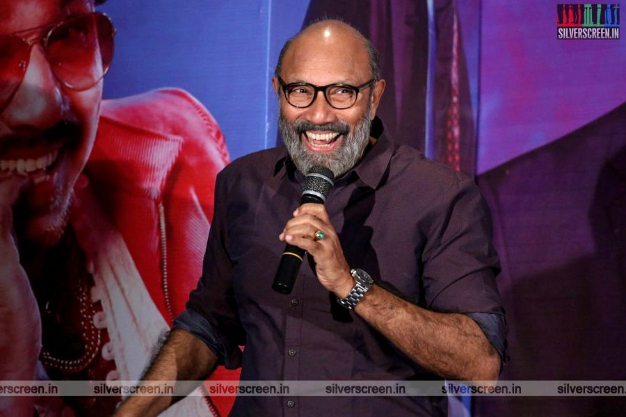 Sathyaraj At The 'Party' Audio Launch